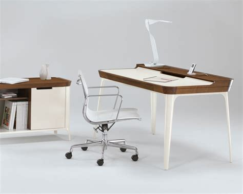 Home Office Desk Contemporary Stylish Work Desk For Modern Home Office From Kaijustudios Digsdigs
