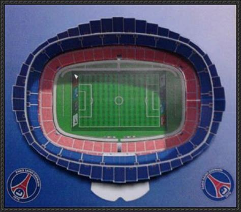 How To Make A Paper Football Stadium - papercraftsquare new paper craft parc des princes