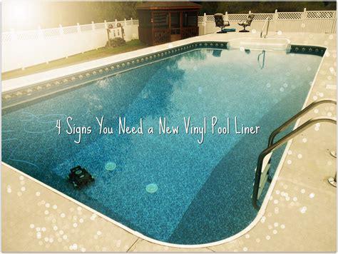 how to find leak in vinyl pool liner 4 signs you need a new vinyl pool liner pools