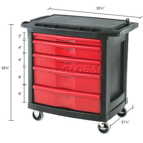 tool storage carts organization carts 5 drawer