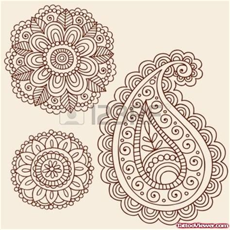 amazing henna mandala flowers tattoos designs tattoo
