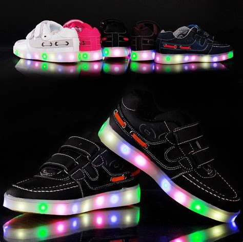 light shoes for fashion led light shoes child baby kids l luminous