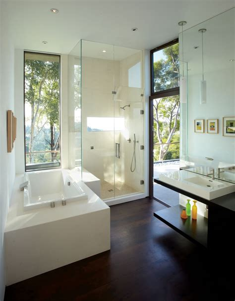 Modern Bathroom In 20 Modern Bathrooms With Glass Showers