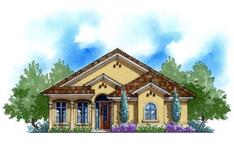 mediterranean house plans for narrow lots energy saving narrow lot mediterranean 33101zr architectural designs house plans