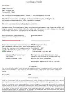 Drywall Bid Template by Painting Contractor Template Writinggroups215
