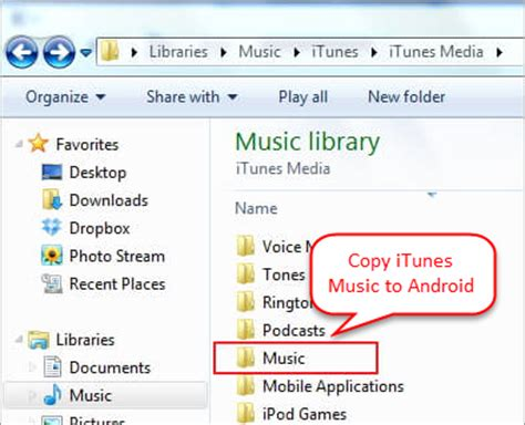 can you itunes on android phone data transfer