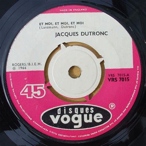 jacques dutronc et moi jacques dutronc et moi et moi et moi records lps vinyl