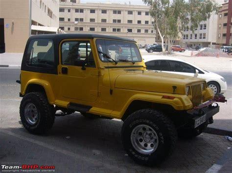 Jeep Yellow Paint Jeep Wrangler Yj Buildup Page 3 Team Bhp