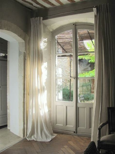 drapes french doors curtains french doors for the home pinterest
