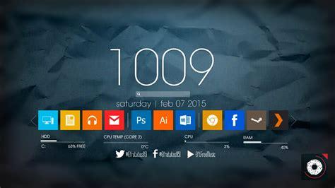 iconos barra superior mac instala barra metro modern ui windows 10 7 8 youtube