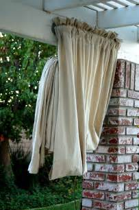 Weatherproof Curtains Heather Bullard Diy Drop Cloth Drapes All Things Drop