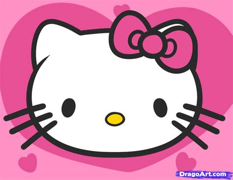Cincin Hellokitty 1 how to draw hello for step by step characters pop culture free drawing