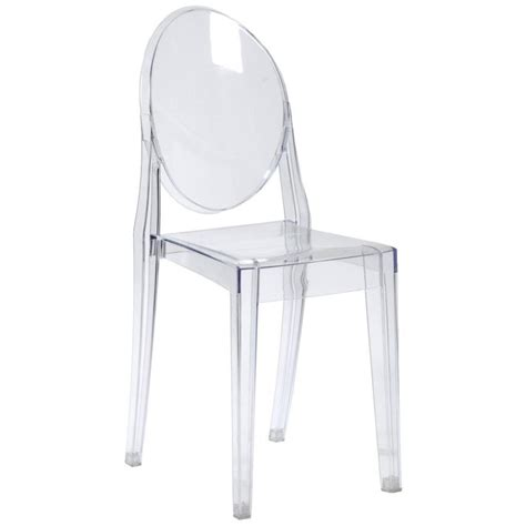 Clear Dining Chair Gamma Side Chair Clear Acrylic Dining Chairs