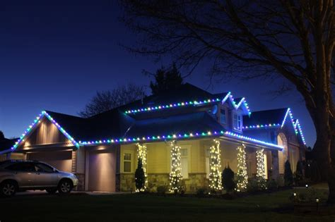 how to install christmas lights on a house light knights