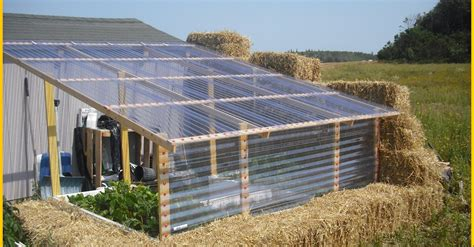cost of building a green home making a very low cost greenhouse out of straw
