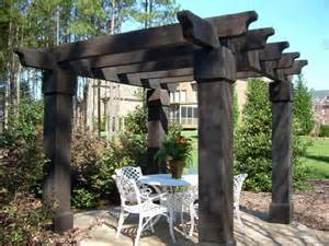 Rustic Pergola Kits by Do It Yourself Pre Built Pergolas