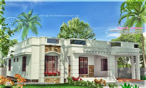one floor kerala style home in 141 square meter indian