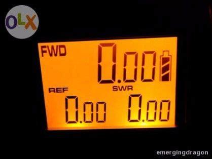 Nissei Digital Swr Power Meter Rs 50 Made In Taiwan nissei digital power and swr meter rs 50 vhf uhf 125 525mhz radio and walkie talkie metro