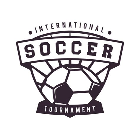 Soccer Logo Template Design Vector Free Download Soccer Design Template