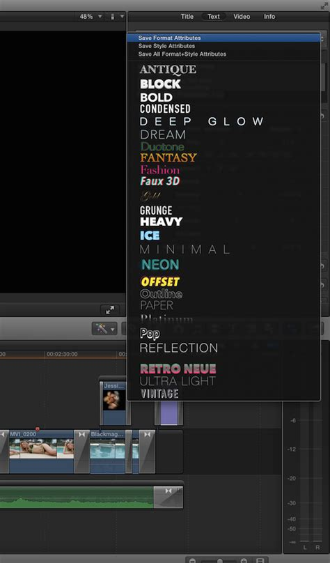 Cut Pro Intro Templates