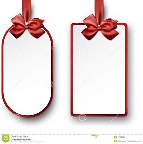 libro los lazos del deseo cartes cadeaux del libro blanco con los lazos de sat 233 n rojos ilustraci 243 n del vector