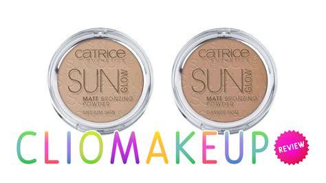catrice matt bronzer review recensione terra catrice sun glow matt bronzing