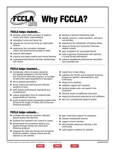 Fccla Planning Process Summary Page Template Fccla Power Of One Template
