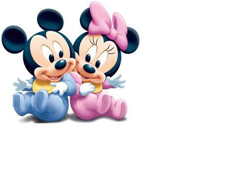 Dc Micky Kaos Mickey Mouse minnie baby baby mickey mouse in overalls wall decal