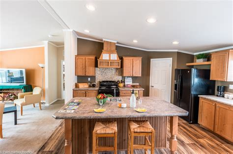manufactured homes kitchen cabinets view the canyon bay i floor plan for a 2108 sq ft palm