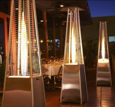 Restaurant Patio Heaters Restaurant Patio Heaters Rustic Los Angeles By Advanced Misting Systems
