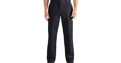 comfortable work pants mens dickies flex regular fit straight leg twill multi use