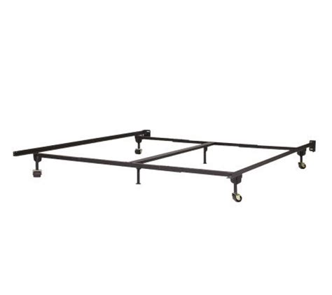 heavy duty king size bed frame queen king heavy duty bed frame page 1 qvc com