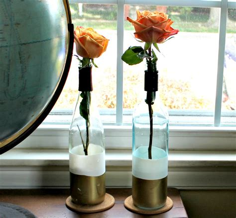 Water Vases 26 Creatively Clever Wine Bottle Diys