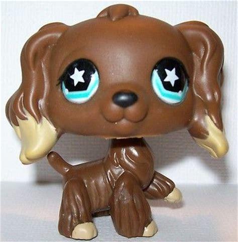 shop for dogs littlest pet shop lps cocker spaniel 960 puppy brown with cocker spaniel