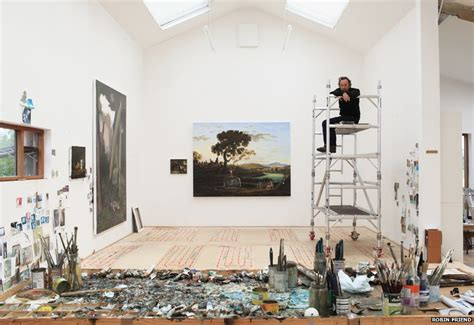 How Often To Paint House bbc news in pictures britain s artists and their studios