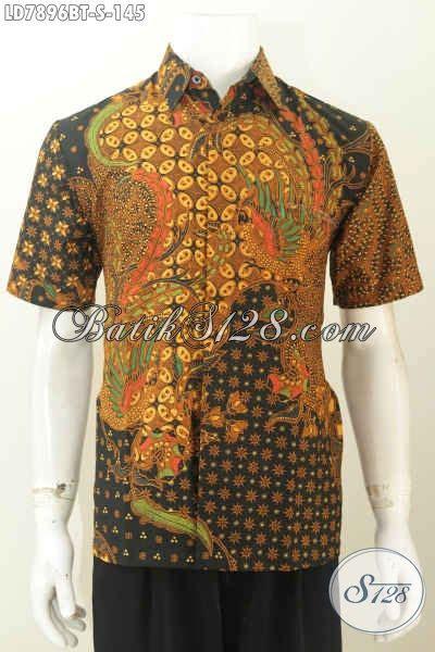 desain baju batik lelaki baju batik klasik kombinasi tulis desain terkini yang