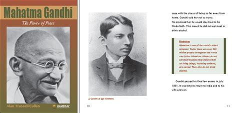 biography documentary of mahatma gandhi hameray publishing teaching materials for guided reading