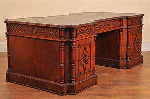 antique partner desk chippendale partners desk furniture office