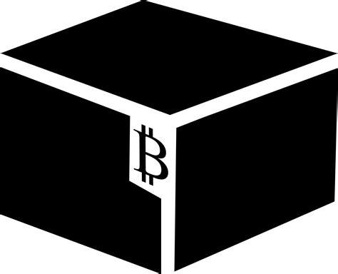 bitcoin block clipart bitcoin block