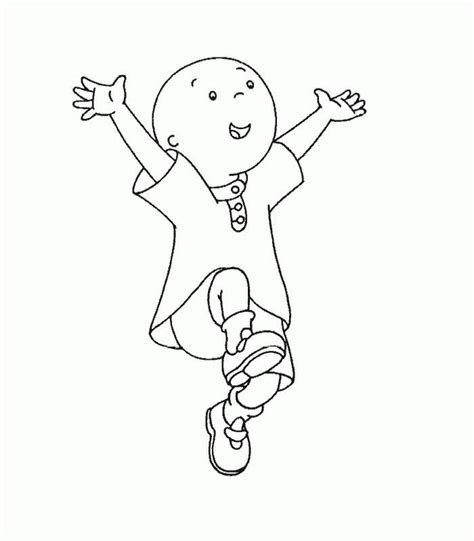 Caillou Printable Coloring Pages Pictures Of Caillou Coloring Home by Caillou Printable Coloring Pages