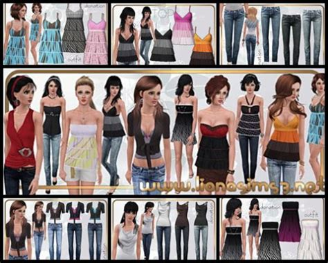 Liana Set 3 In 1 sims 3 quot liana set may 2010 quot