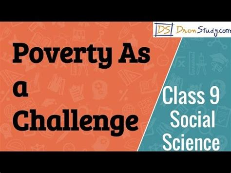 poverty as challenge poverty as a challenge cbse class 9 ix social science