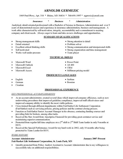 Resume Sle For Career Change brilliant resume exles career change 2017 resume