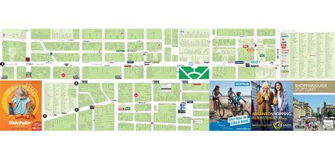 stuttgart on map stuttgart shopping map