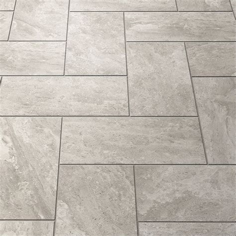 carone quartzite shop style selections trailden gray ceramic indoor outdoor floor tile common 12 in x 24 in