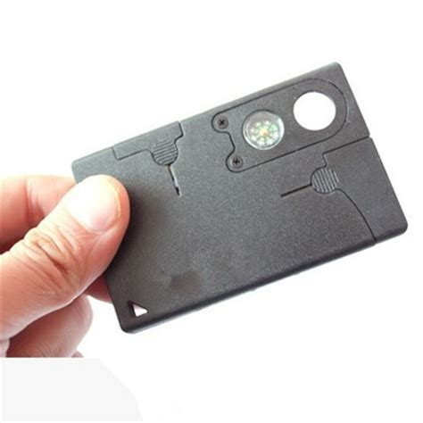 10 In 1 Army Knife Survival Tools Credit Card Size 10 In 1 Army Knife Survival Tools Credit Card Size Black Jakartanotebook