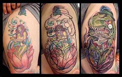 dinosaur tattoo fail cover up tattoos wie es funktioniert und welche design