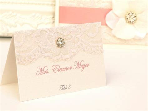 Creative Name Cards For Weddings