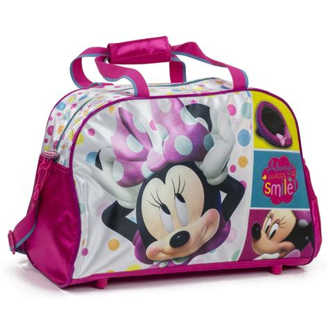 new official minnie mouse disney duffle holdall