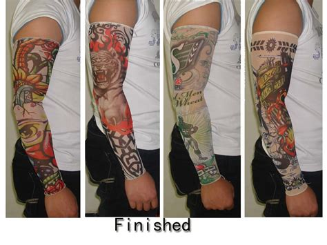 removable tattoo sleeves temporary sleeve tattoos